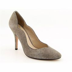 $48.99-$220.95 Joan & David Collection Women's Banas Pump,Dark Grey/Grey Suede,9.5 M US - If you're bored of the same old heels, then grab the lovely Dabanas by Joan & David. These pumps feature glimmering suede or brilliant patent upper in a smooth round toe. Soft synthetic lining and lightly cushioned footbed provides additional comfort. The leather sole with logo accent is durable and supportiv ...