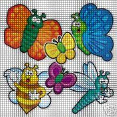 Butterfly Friends Crochet Pattern