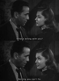 i also spend half of my life apologising. but most of all, i am a lover of movies and tv shows. Old Movie Quotes, Classic Movie Quotes, Classic Movies, Old Hollywood Stars, Classic Hollywood, Bogart And Bacall, City Quotes, Quick Quotes, Movie Couples