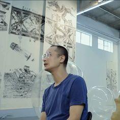 "Artist Qiu Zhijie On The ""Esprit Dior"" Exhibition In Shanghai"