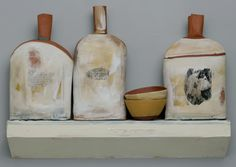 Nancy Selvin Workshop - Still Life With Print - MudFire Clayworks in Atlanta-Decatur, Georgia