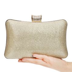Fashion Women Messenger Bags Day Clutches Purse Evening Bag Chain Shoulder Silver/Black/Gold Evening Bags