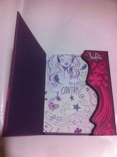Diario Agenda Violetta Original Disney Novo Frete Gratis