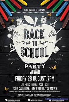 30+ Best #Birthday Bash Party #Flyer Print Templates Link : http ...