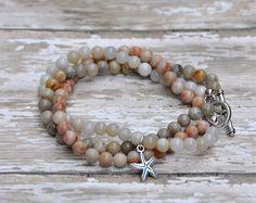 Layering Stacking Bead Bracelets / Summer Bracelets by BeadRustic