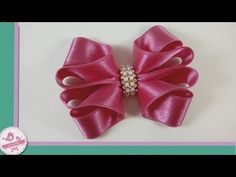 Arco Chanel com manta de Strass - YouTube