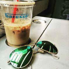 Love this ice latte from baresso