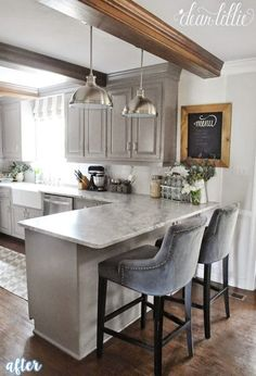 this is it white cabinets subway tile quartz countertops