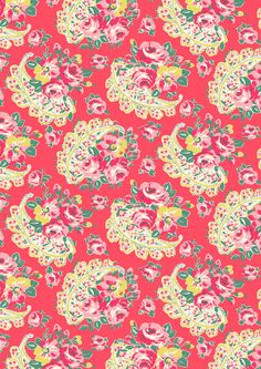 Rose Paisley | A reissued classic from our Print Library, first designed in the 1990s | Cath Kidston Autumn Winter 2016 |
