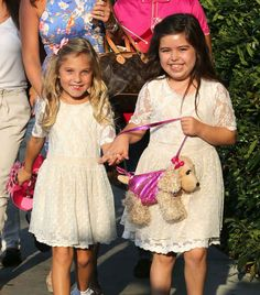 Sophia Grace took some fashion inspiration from Quvenzhané Wallis' puppy purse.   17 Things Celebrities Did This Week