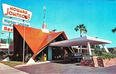 Howard Johnson's Restaurant and Motor Lodge, Fort Walton Beach Florida, vintage postcard Fort Walton Beach Florida, Old Florida, Florida Beaches, Vintage Florida, Clearwater Florida, Florida Hotels, Sarasota Florida, Central Florida, Vintage Hotels