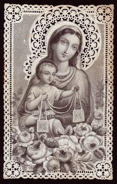 Vintage Our Lady of Mt. Carmel