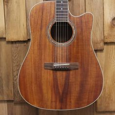 Awesome Morgan Monroe Koa (Laminated) Acoustic-Electric Cutaway with hard-shell case. Plays great with low action. There was a small neck crack, around the Neck Cracking, Cutaway, Acoustic, Plays, Shell, Electric, Guitar, Action, Amp