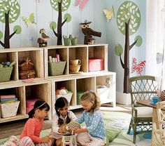 Kids Playroom Storage Furniture love this playroom. i better have a girl or boys who like pastels