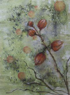 Winter Cherry ist ein Bild für PanPastel BNL, gestaltet mit #panpastel #panpastelmetallic #brusho - http://panpastelbnl.blogspot.de/2015/11/winter-cherry.html