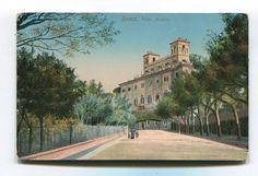 Rome Roma Villa Medici Old Postcard   eBay