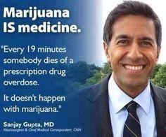Sanjay Gupta | Marijuana IS medicine| medical marijuana