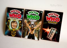 DOCTOR WHO 3 x Target Adventure Novels 1970s 1st, 3rd & 4th Doctors by UpStagedVintage on Etsy