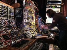 What's Alessandro Cortini Working On In Trent Reznor's Studio? School Trends, Sound Installation, Trent Reznor, Alternative Music, Recording Studio, Audiophile, The Unit, Songs, Shit Happens