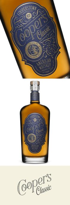 Feast Your Eyes on Cooperstown Distillery's Latest American Whiskey — The Dieline - Branding & Packaging Design