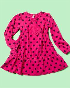 Another cute polka-dot dress from petit lem