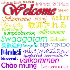 A global hello Nice project where students from all over the world describe their culture, town, etc.