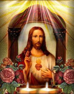 SAGRADOS CORAZONES DE JESÚS Y MARÍA : JUNIO, MES DEL SAGRADO CORAZÓN DE JESÚS - DÍA 20 -...