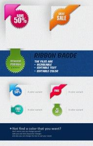 Combinations of Badges and Ribbons - free