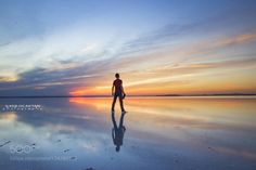 pray by iocaktan  sky sunrise lake sea beauty sunset water reflection travel night sun light clouds beautiful salt lak