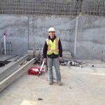 Thanks for using Gray CrackStix Brent! Here's to Edmonton Alberta Canada! Alberta Canada, Concrete, Gray, Grey