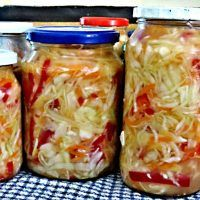 Home Canning, Bellisima, Preserves, Mason Jars, Cabbage, Vegetarian, Vegetables, Food, Veggies