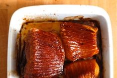 Pečený bůček - Kuchařka pro dceru Bucky, Steak, Steaks