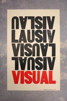 Studio on Fire - Visual - College of Visual Arts poster
