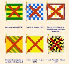 Banderas de tercios