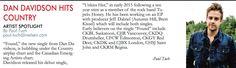 Huge thanks to Paul Tuch of Nielsen for highlighting Dan in the Nielsen Canadian Billboard Newsletter!