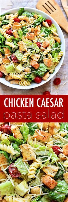 It's this time of year salads are my go-to for lunches and dinners. Honestly, I eat them year round but during the summer they become what I eat almost daily. There are so many amazing and flavorful salads out there but this CHICKEN CAESAR PASTA SALAD has to be my favorite.  I love this...Read More »