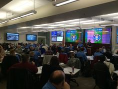 RT @BeReadySchools: 2015 Great Utah ShakeOut Exercise underway at the State Emergency Operations Center. #ShakeOut