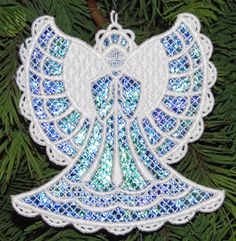Machine Embroidery Designs K-Lace™Angels and Sets with Angels