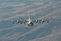 """Keeping with the KC-130 theme. A Lockheed KC-130T Hercules, from Marine Aerial Refueler Transport Squadron 452 (VMGR-452) """"Yankees,"""" taking part in a long-range raid from Yuma, Arizona to Las Cruces, New Mexico.  ottosenphotography.com   © Matt Ottosen"""