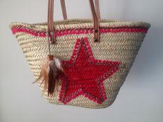 Ibiza tassen Handmade Beachbag Ibiza Beach, Straw Handbags, Straw Bag, Wicker, Diy, Take That, Sewing, Handmade, Facebook