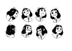 Some character design stuff! Illustration Sketches, Character Illustration, Art Sketches, Art Drawings, Drawing Faces, Art Illustrations, Character Poses, Character Design References, Character Art