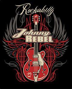 Johnny Rebel T-Shirt Design Wing Guitar by russellink.deviantart.com on @deviantART