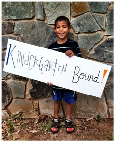 preschool graduation photo! I want a pic of Ayla and Colt with a sign like this.... BUT BETTER!