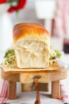 Receta de pan de leche japonés. Pan de molde casero. Tangzhong.