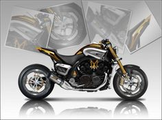 Moto : Otec vmax – More information… Sidecar, Yamaha Motorbikes, Honda Cbx, Yamaha Cafe Racer, Bmw K100, V Max, Xjr, Motorcycle Bike, Vintage Bikes