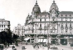 Once Upon A Time in Bucharest: Hotel Imperial Romanian Girls, Palace Hotel, Bucharest, Old City, Vintage Photographs, Old Photos, Big Ben, Paris Skyline, Taj Mahal