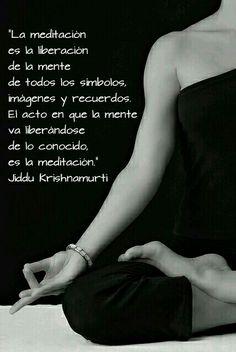 #Frases #Meditación #Krishnamurti