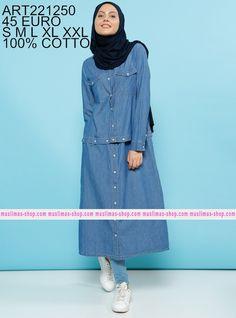Le nostra offerta #vestitoislamico per la donna #musulmana  Natural snaps Topcoat - Benin - Fabric Info:  100% Cotton - SKU: 221250. Buy now at http://www.muslimas-shop.com/natural-snaps-topcoat-benin.html