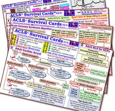 ACLS Survival Cards