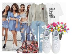 """""""Spring on streets"""" by juliet222 ❤ liked on Polyvore featuring Zadig & Voltaire, Topshop, Improvements, Sans Souci, adidas and GUESS"""